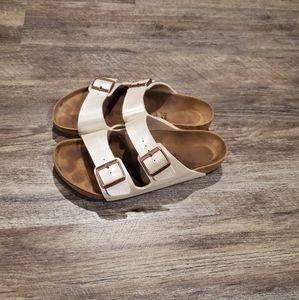 Birkenstock Arizona Metalic Sandals